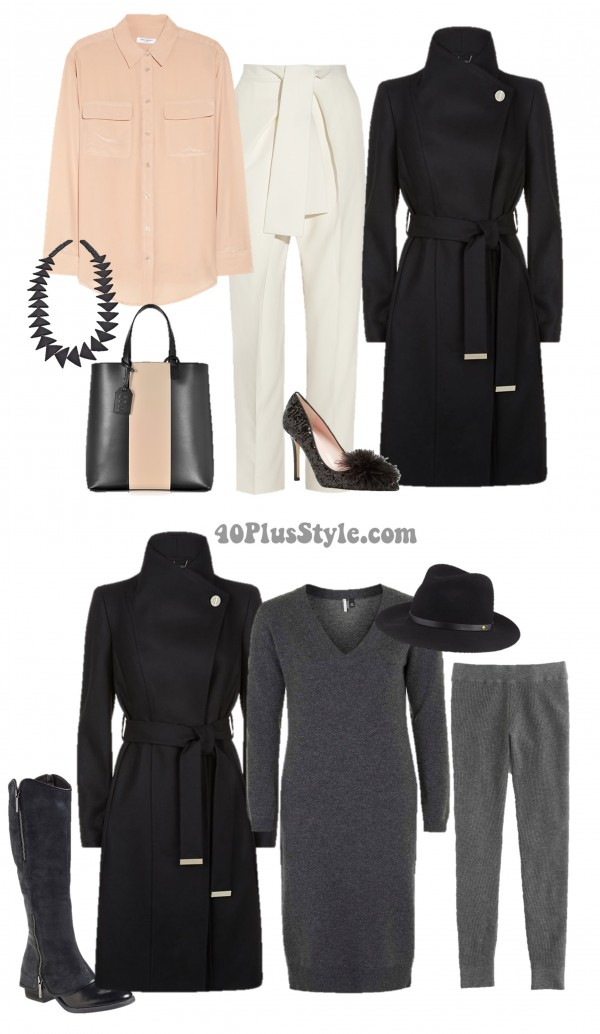 Luxury Chic Cashmere Coat | 40plusstyle.com