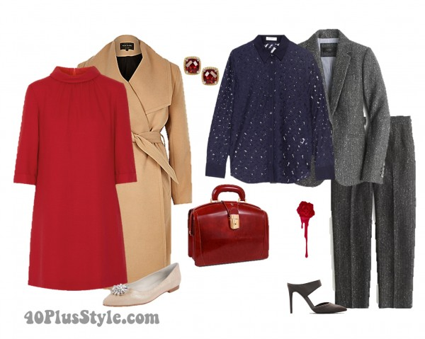 Sequins Office Chic Looks | 40plusstyle.com