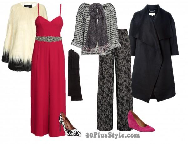 Sequins Pants Chic Look   40plusstyle.com