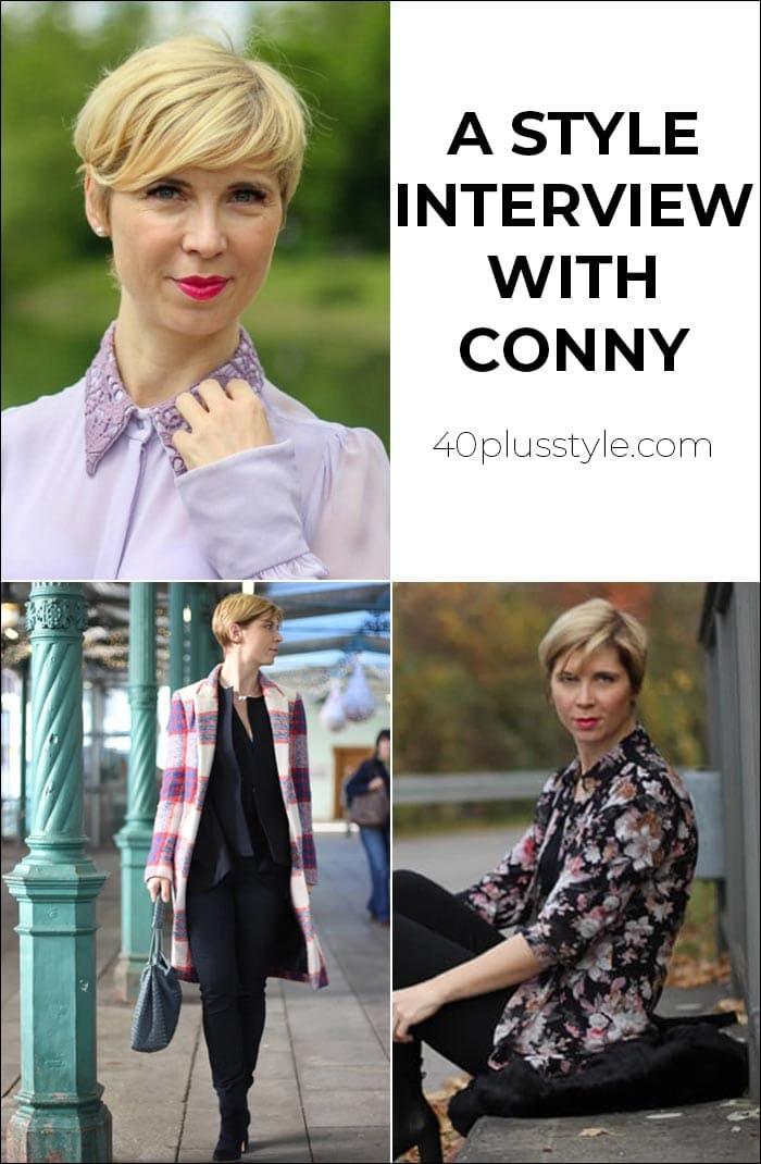 A style interview with Conny | 40plusstyle.com