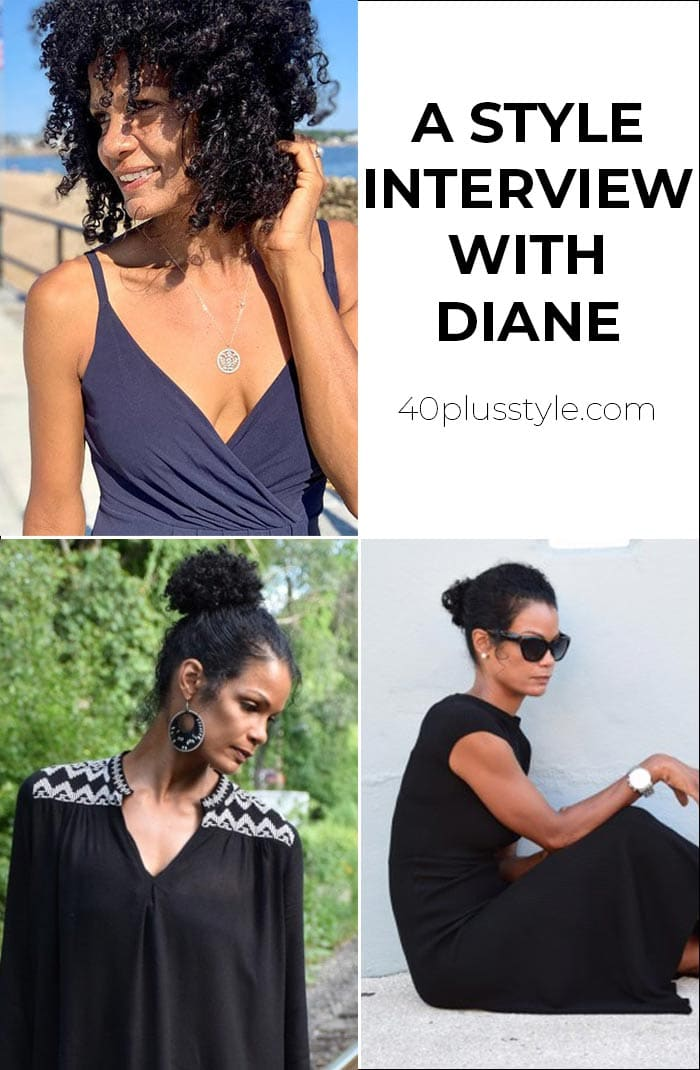 A style interview with Diane | 40plusstyle.com
