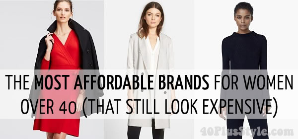 The Best Affordable Brands For Women Over 40 That Still Look Expensive