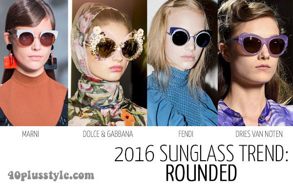 2016 accessory trends: sunglasses | 40plusstyle.com