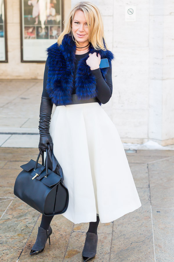 Streetstyle inspiration: skirts for winter - Which one is your favorite? | 40plusstyle.com