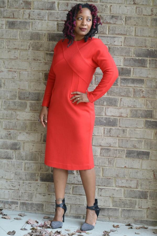 Red Dress   40plusstyle.com