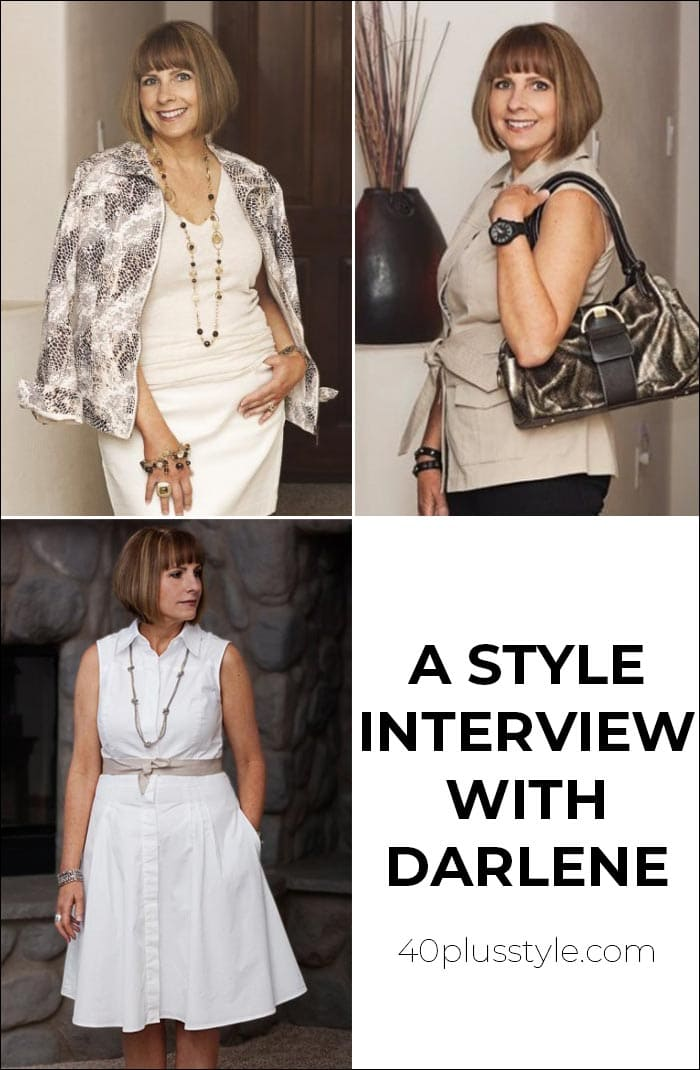 A style interview With Darlene | 40plusstyle.com