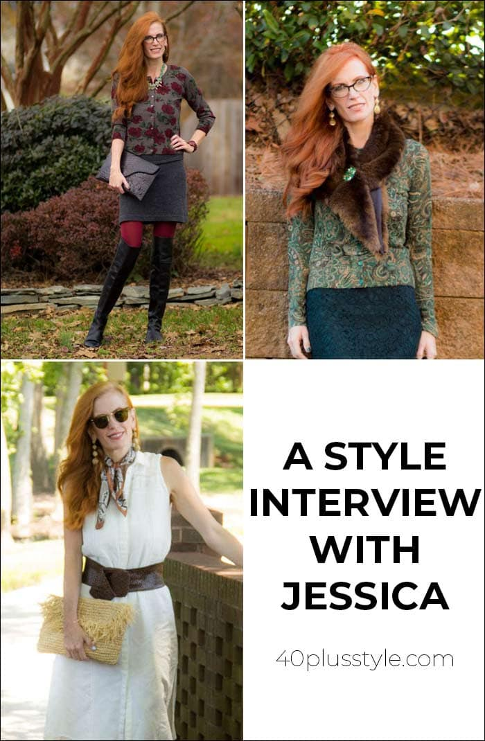 A style interview With Jessica | 40plusstyle.com