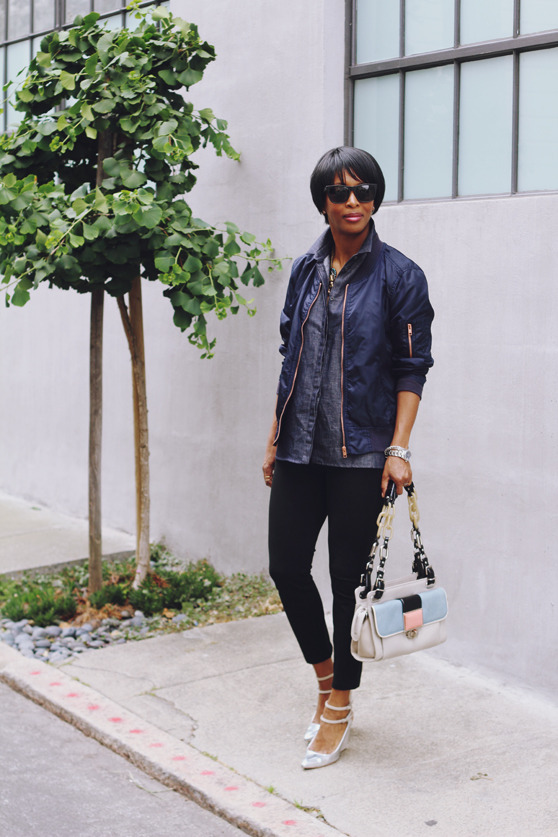 A mixture of tomboy, preppy and feminine – A style interview with Kim | 40plusstyle.com