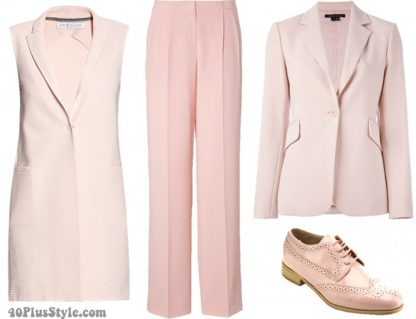 Pink Pantone 2016 Menswear Inspired | 40plusstyle.com