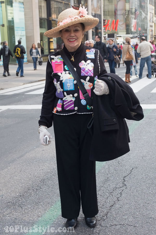 More colorful Style at the 2016 Easter Parade in New York! | 40plusstyle.com