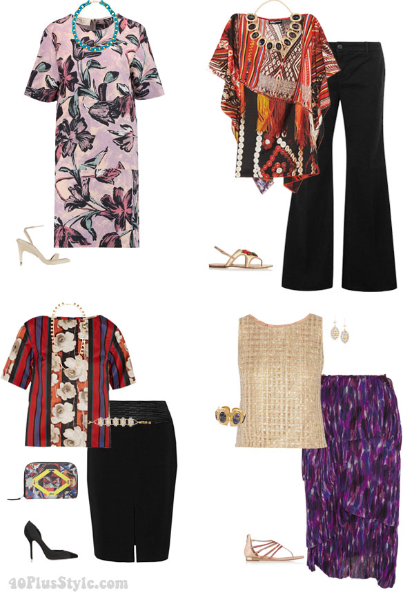 Outnet sale pretty in Print | 40plusstyle.com