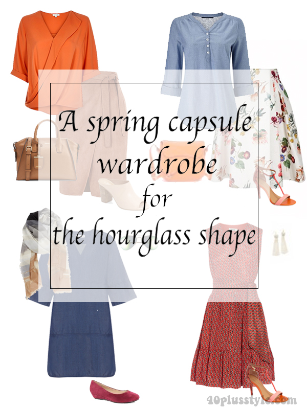 Spring Capsule Wardrobe For The Hourglass Body Shape