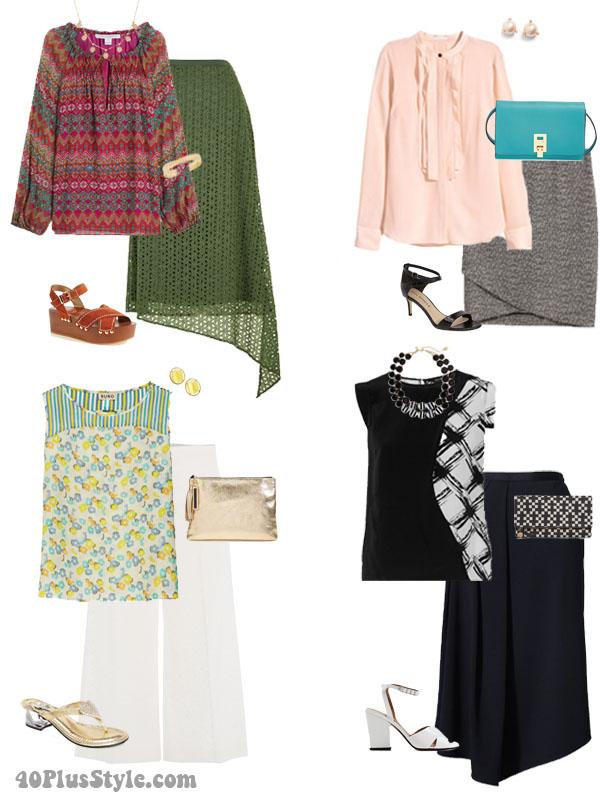 How to wear unique silk clothes| 40plusstyle.com