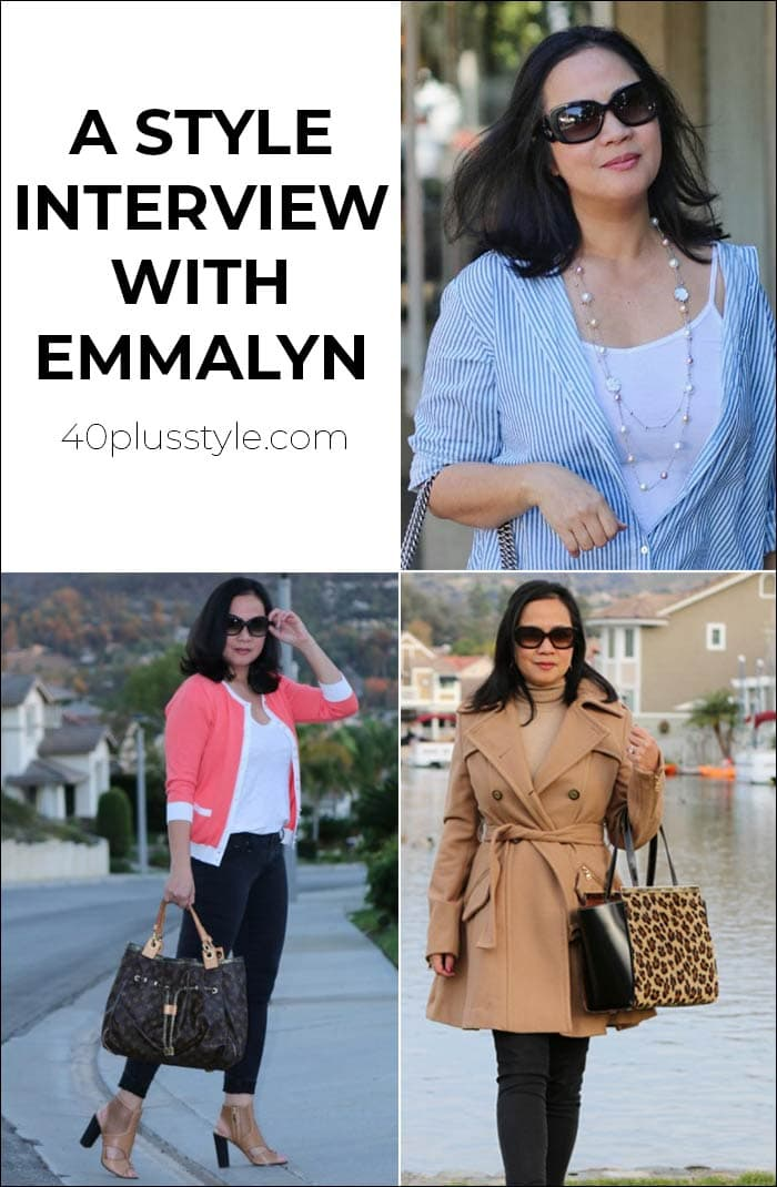 A style interview with Emmalyn | 40plusstyle.com