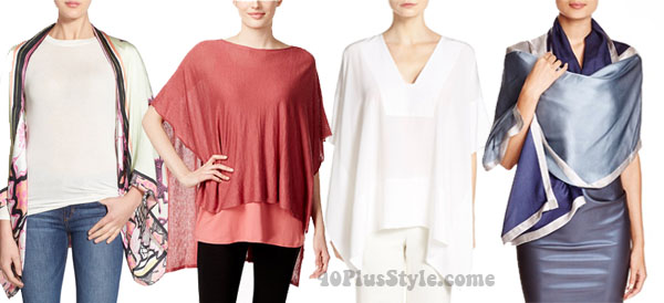 layering pieces silk | 40plusstyle.com