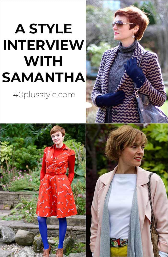 A style interview with Samantha | 40plusstyle.com