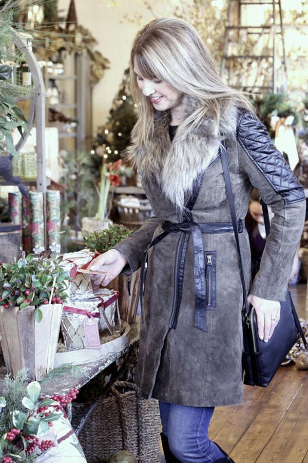 Winter coat Susan Kanoff Style Interview | 40plusstyle.com