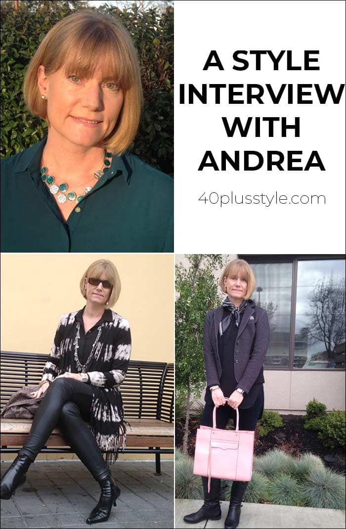 A style interview with Andrea | 40plusstyle.com