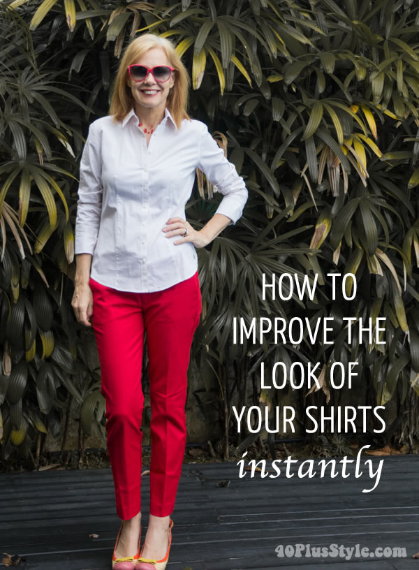 How to improve the look of your shirts - Instantly