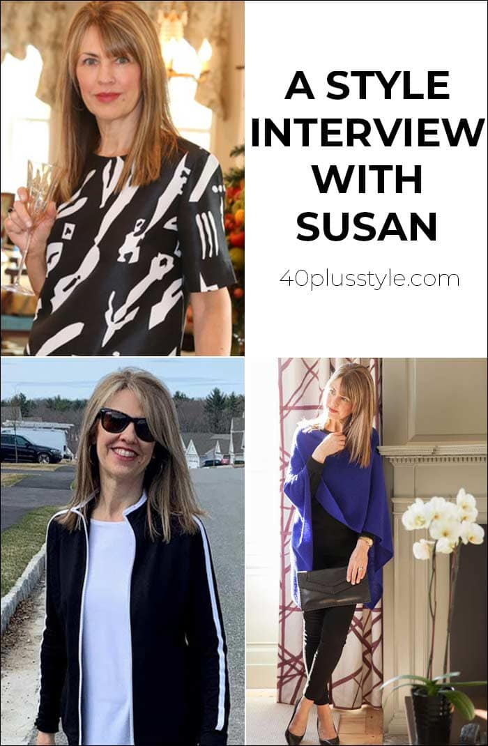 A style interview with Susan | 40plusstyle.com