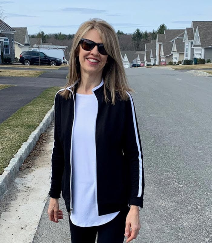Style featuring simple lines with one statement piece – A Style Interview with Susan Kanoff