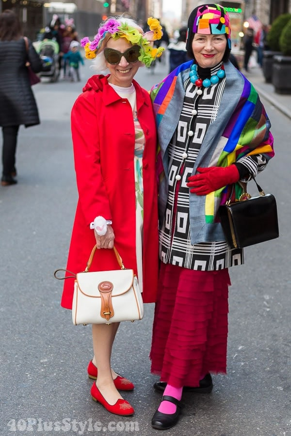 Colorful And Beautiful Style From The 2016 Easter Parade   40plusstyle.com