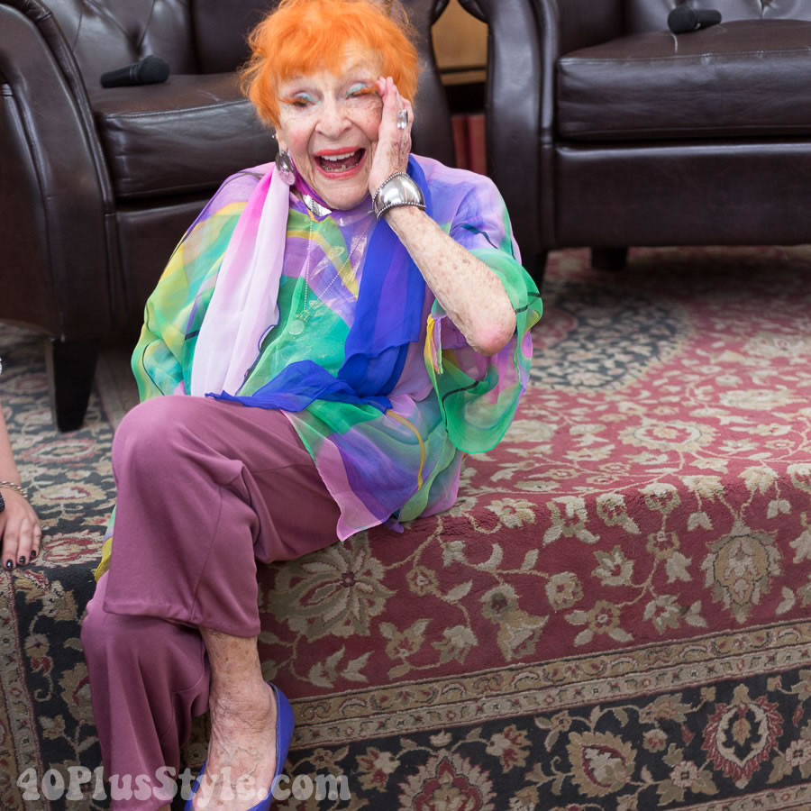 Ilona Royce Smithkin on how to live life joyously | 40plusstyle.com