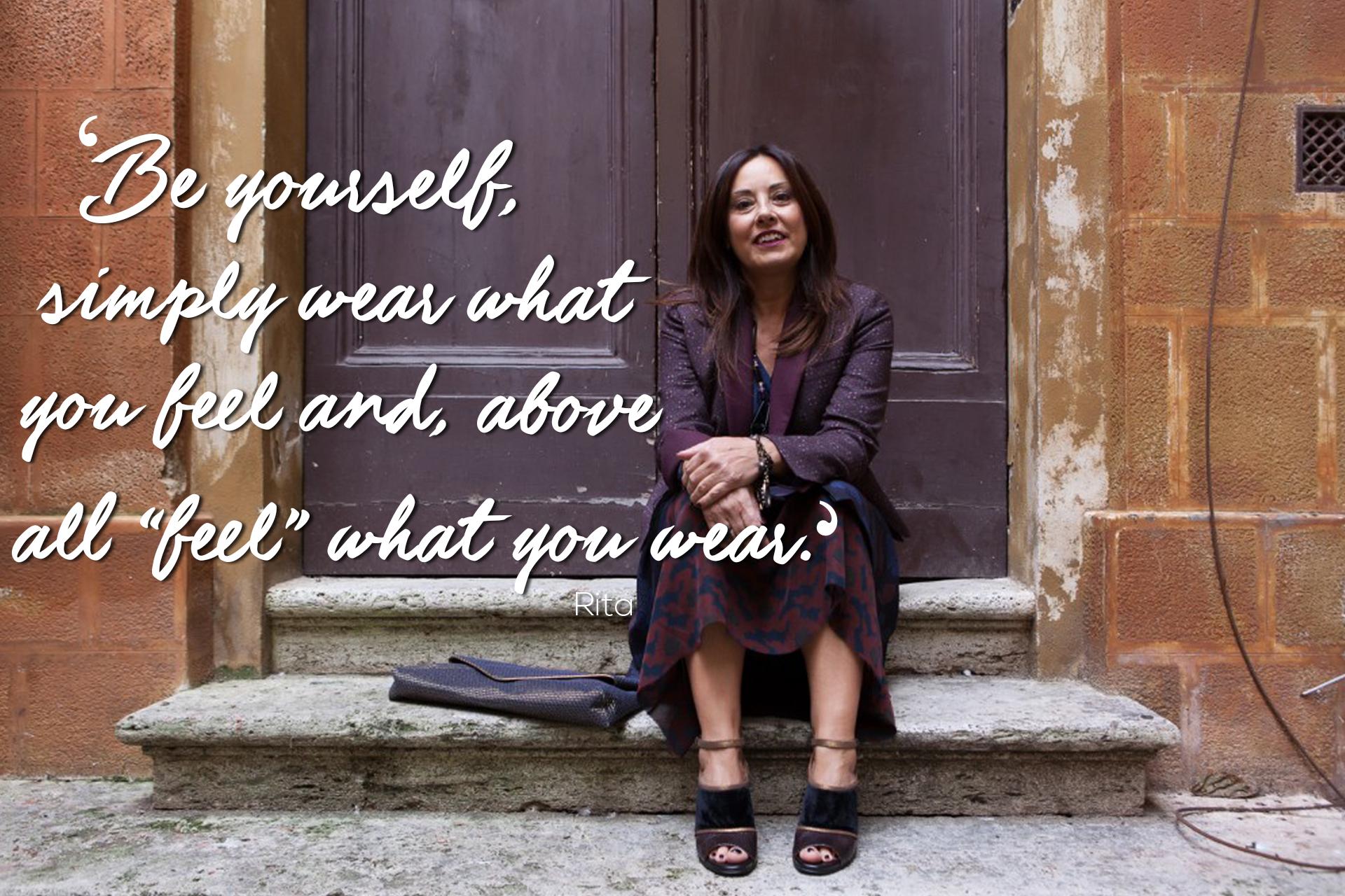 Rita Style Quote | 40plusstyle.com