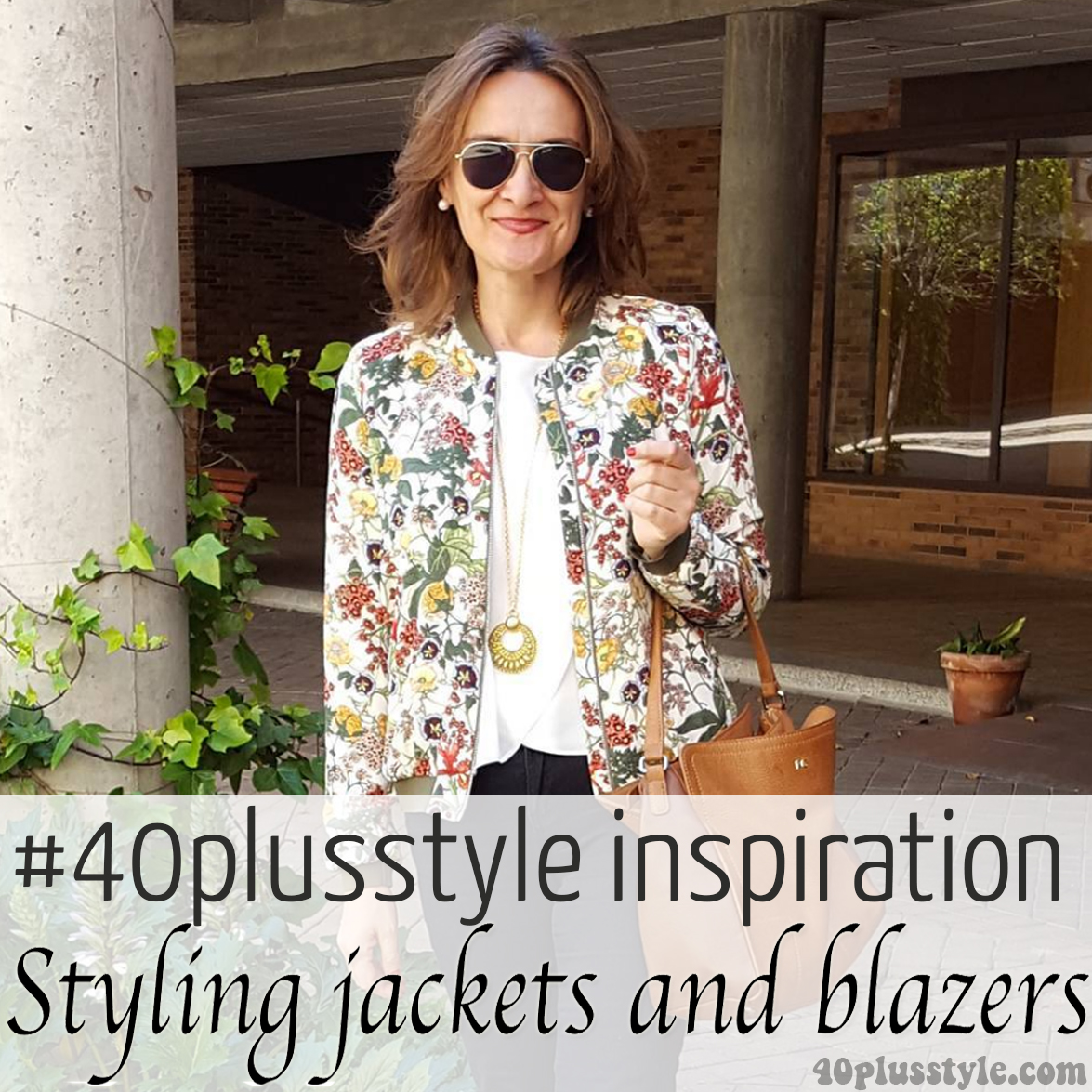 #40plusstyle Inspiration: Styling jackets and blazers | 40plusstyle.com
