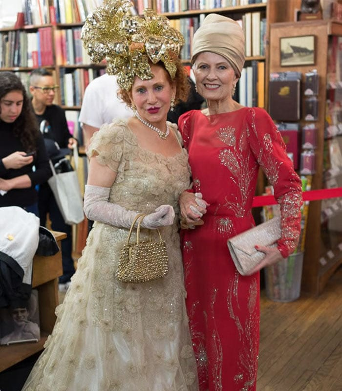 Fabulous style at the Advanced Style Older and Wiser book launch