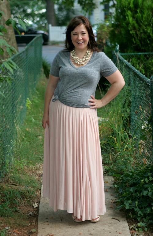 ann taylor maxi skirt   40plusstyle.com