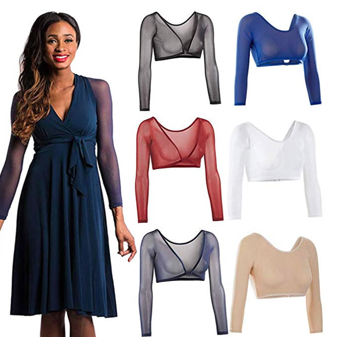 Arm sleeves and arm shaper for women | fashion over 40 | 40plusstyle.com