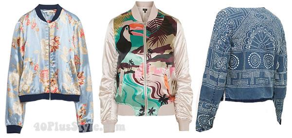 Bomber jacket style inspiration   40plusstyle.com