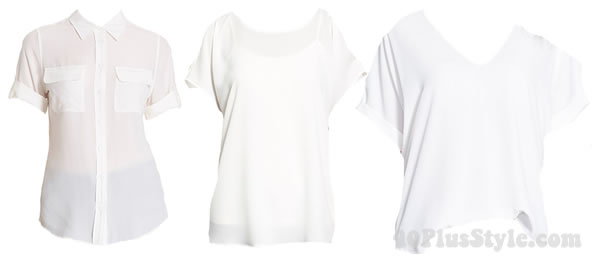 White blouses outfit   40plusstyle.com