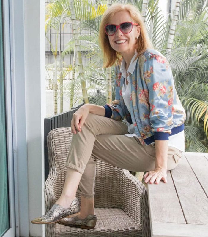 40+Style Casual Style Challenge - Outfit 2 | 40plusstyle.com