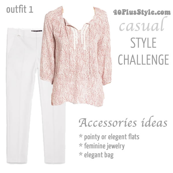 How to style a casual outfit   40plusstyle.com