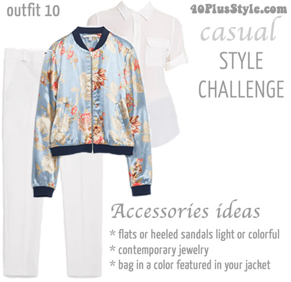 40+Style Casual Summer Style Challenge | 40plusstyle.com
