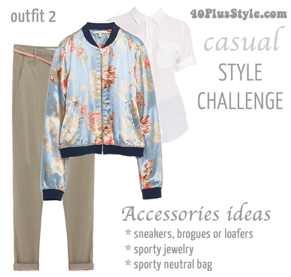 Sporty inspired outfit   40plusstyle.com
