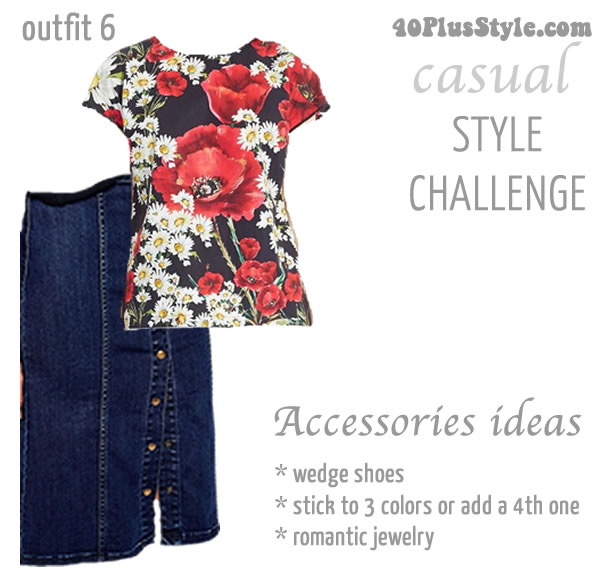Casual style challenge outfit 6 | 40plusstyle.com