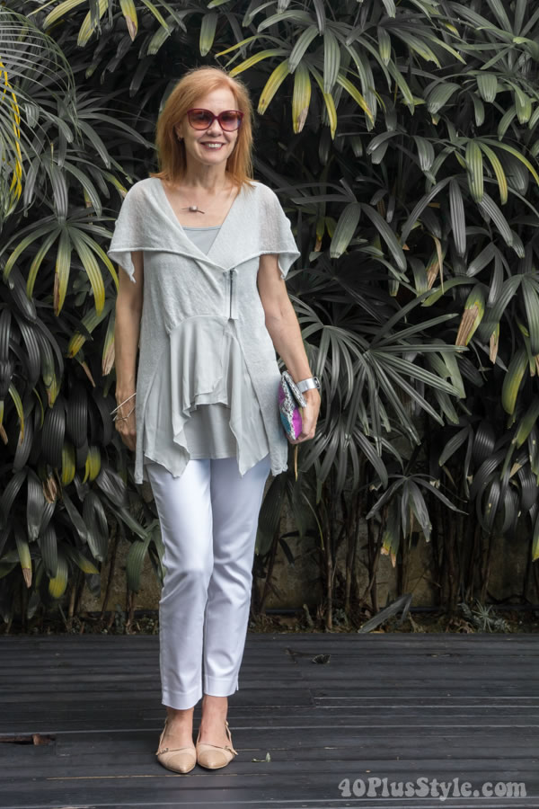 How to style your white pants | 40plusstyle.com
