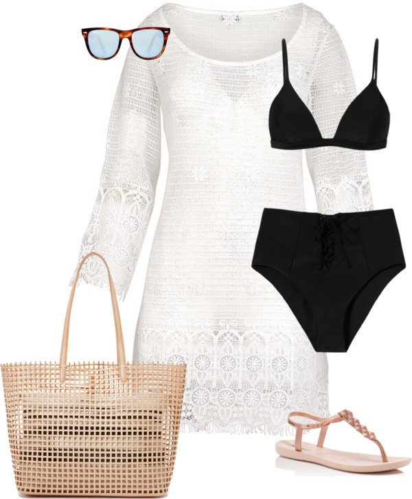 How to wear a dress at the beach   40plusstyle.com