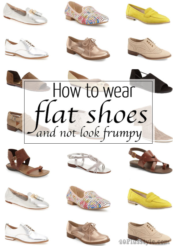 c87f8023f7f How to wear flat shoes and not look frumpy