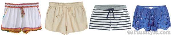 Shorts for the beach | 40plusstyle.com