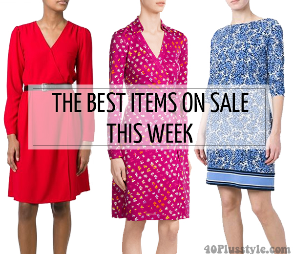 Fabulous and on sale this week - Stylebop, Farfetch, Yoox and Nautica| 40plusstyle.com