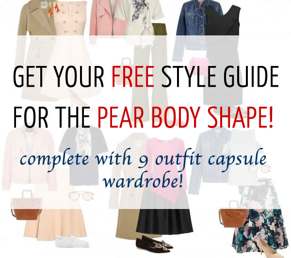 85967910870 A capsule wardrobe for the pear body shape