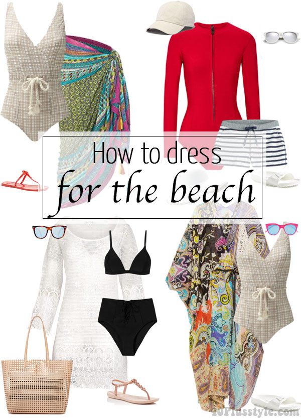 How To Dress For The Beach 40plusstyle