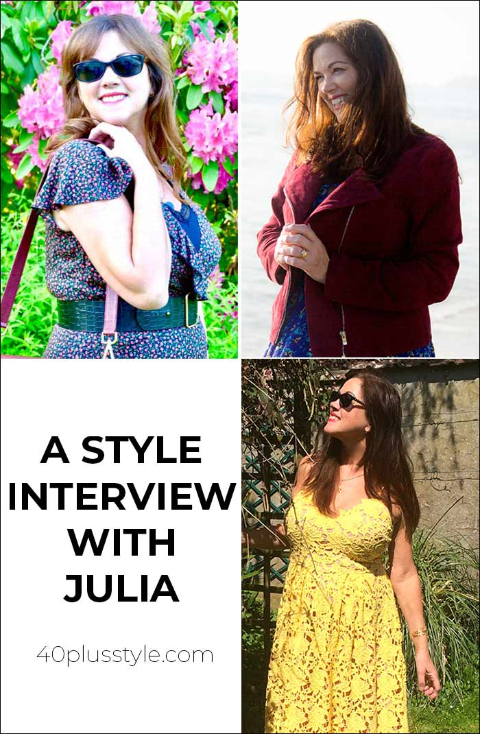 A style interview with Julia | 40plusstyle.com