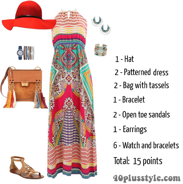 Styling a maxi dress, are you overdressed? | 40plusstyle.com