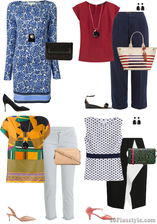 Fabulous and on sale outfit inspiration | 40plusstyle.com