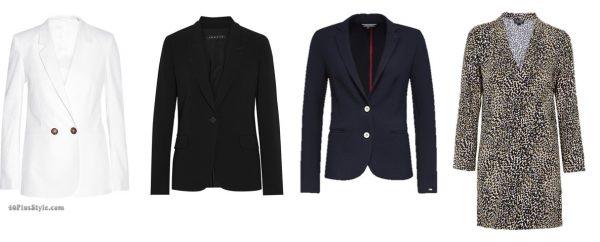 Emmanuelle Alt French Vogue blazers jackets | 40plusstyle.com